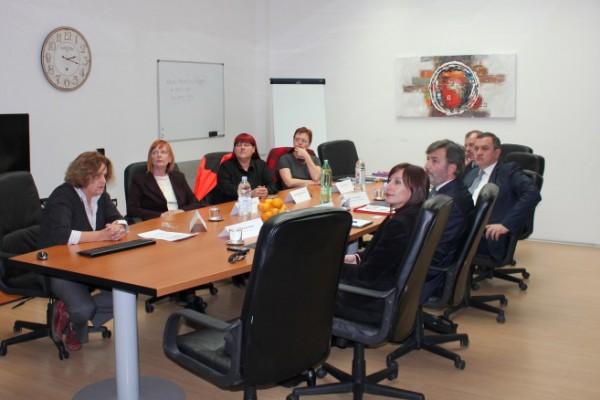 Ministar zdravlja Albanije u posjetu HZHM-u