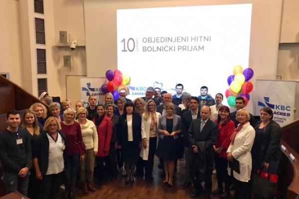 KBC Zagreb obilježio deset godina rada objedinjenog hitnog bolničkog prijema