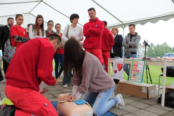 """Program """"Pokreni srce-spasi život"""" predstavljen u Karlovcu"""
