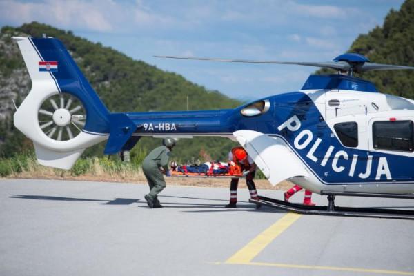 Dubrovački tim hitne helikopterske medicinske službe u zraku za pet minuta