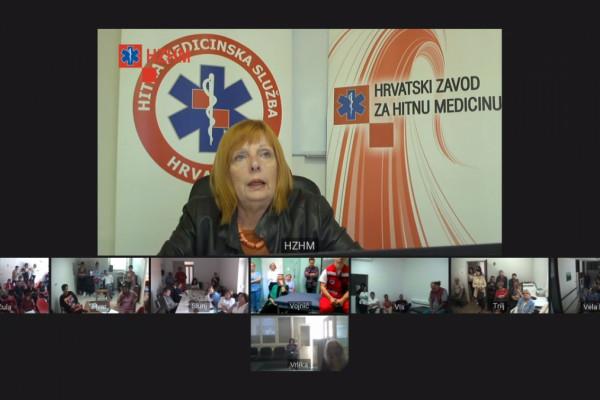 Osnovne mjere održavanja života uz upotrebu AVD uređaja svladali zdravstveni djelatnici na udaljenim lokacijama kroz e-Usavršavanje