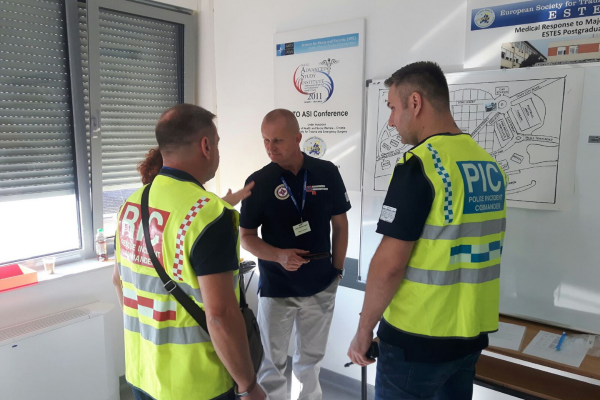 Održan sedmi tečaj Medical Response to Major Incidents