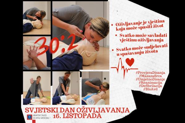 Svjetski dan oživljavanja: Pokreni srce – spasi život