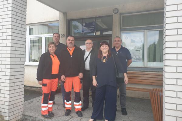 Radni posjet ispostavama Zavoda za hitnu medicinu Primorsko-goranske županije u sklopu priprema za turističku sezonu