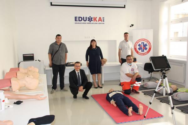 Prvi u Hrvatskoj: Edukacijsko-simulacijski centar otvoren u Karlovcu