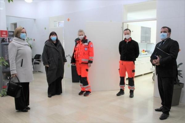 Odlična organizacija sustava hitne medicine u Međimurskoj županiji tijekom pandemije
