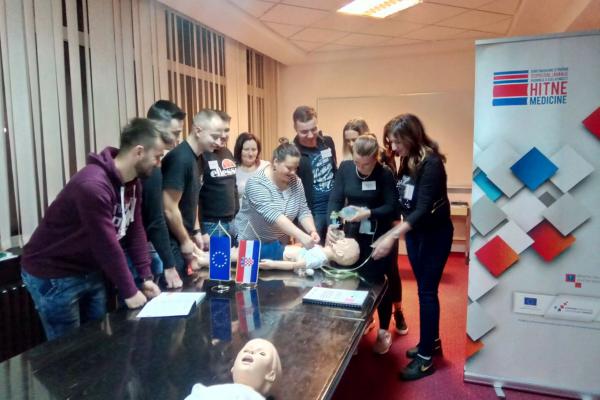 Održana edukacijska vježba za medicinske sestre i tehničare u OHBP-u