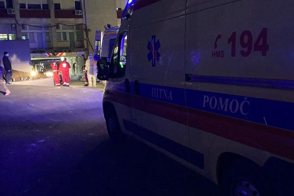 Hitna medicinska služba nakon razornog potresa imala 625 intervencija