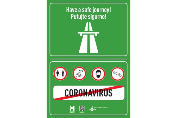 Informativna kampanja Hrvatskih autocesta: PUTUJTE SIGURNO I ODGOVORNO