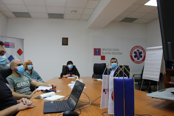 Održan online sastanak ravnatelja zavoda za hitnu medicinu s predstavnicima HZHM-a