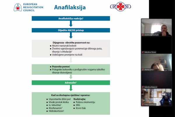 Održano predavanje Anafilaksija i anafilaktički šok