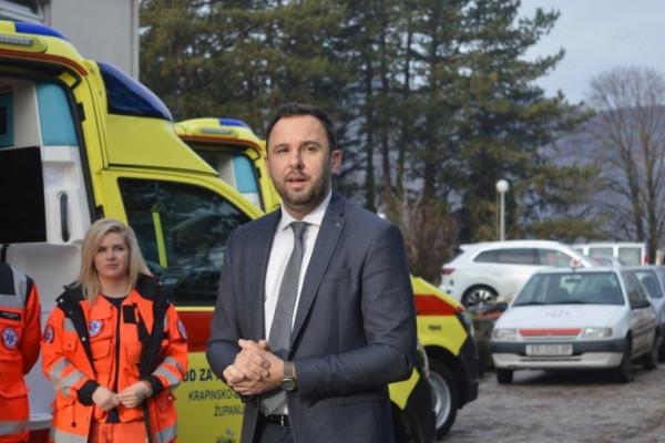 Zavod za hitnu medicinu Krapinsko-zagorske županije bogatiji za dva nova vozila