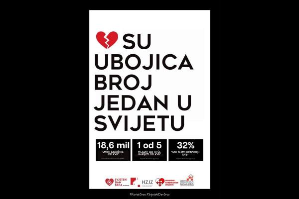 Svjetski dan srca: Koristi srce i poveži se