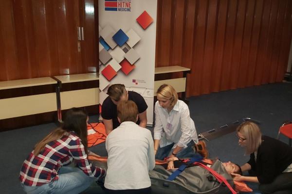 Održana edukacijska vježba za doktore i medicinske sestre i tehničare