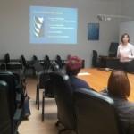 """Specijalizantica hitne medicine Tihana Pomoravec održala predavanje """"Ultrazvuk u hitnoj medicini- pogled specijalizanta"""""""
